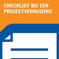 Checklist bij een projectverhuizing